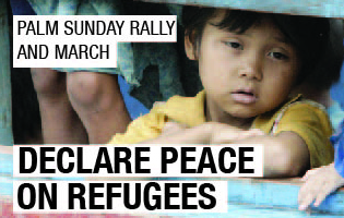 Palm Sunday rally and march