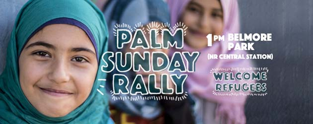 4000 march on Palm Sunday in Sydney