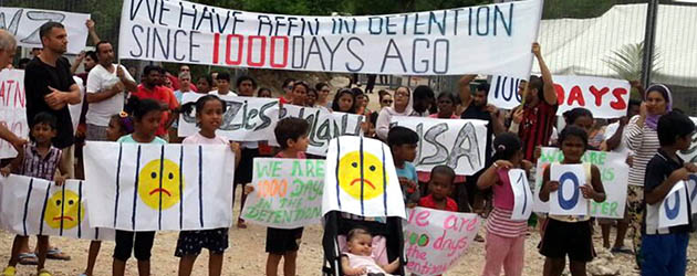 Pre-election rally: Close Manus, Close Nauru, Bring Them Here