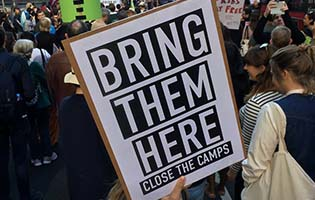 Organise a Bring Them Here action